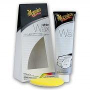 Cera para Carros Brancos e Claros White Wax G6107 198g Meguiars