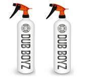 Combo de Pulverizadores Resistente a Químicos Viton Laranja 800ml Dub Boyz