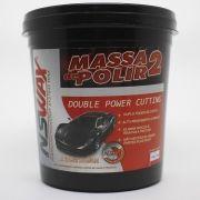 Massa de Polir Nº 2 Double Power Cutting 1kg NSWAX