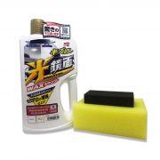 Shampoo White Gloss Preenchedor de Riscos e Brilho para Carros Claros 700ml Soft99