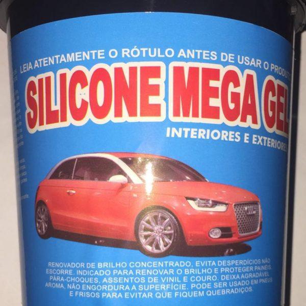 Silicone Mega Gel Maçã Verde 3,6kg Cadillac