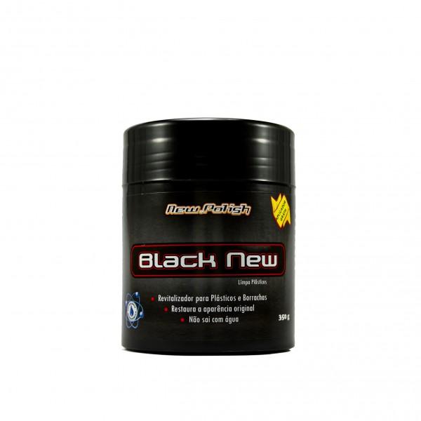 Black New para Plásticos 350g New Polish