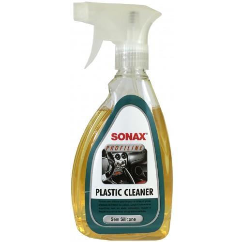 Limpador de Plásticos Plastic Cleaner 500ml c/ Pulv Sonax