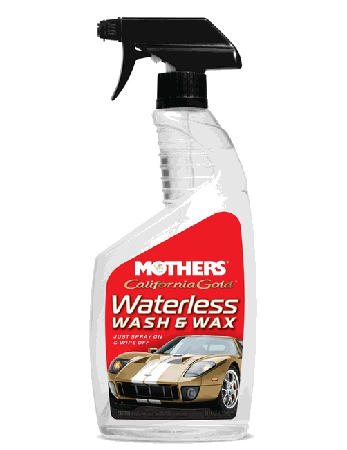 Lava a Seco com Cera Waterless Wash and Wax 710ml Mothers