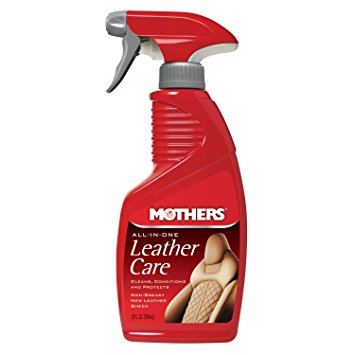Tratamento para Couro 3 em 1 All In One Leather Care 355ml Mothers