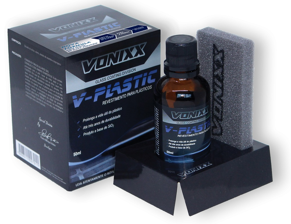V-Plastic Renovador e Protetor de Plásticos 50ml Vonixx