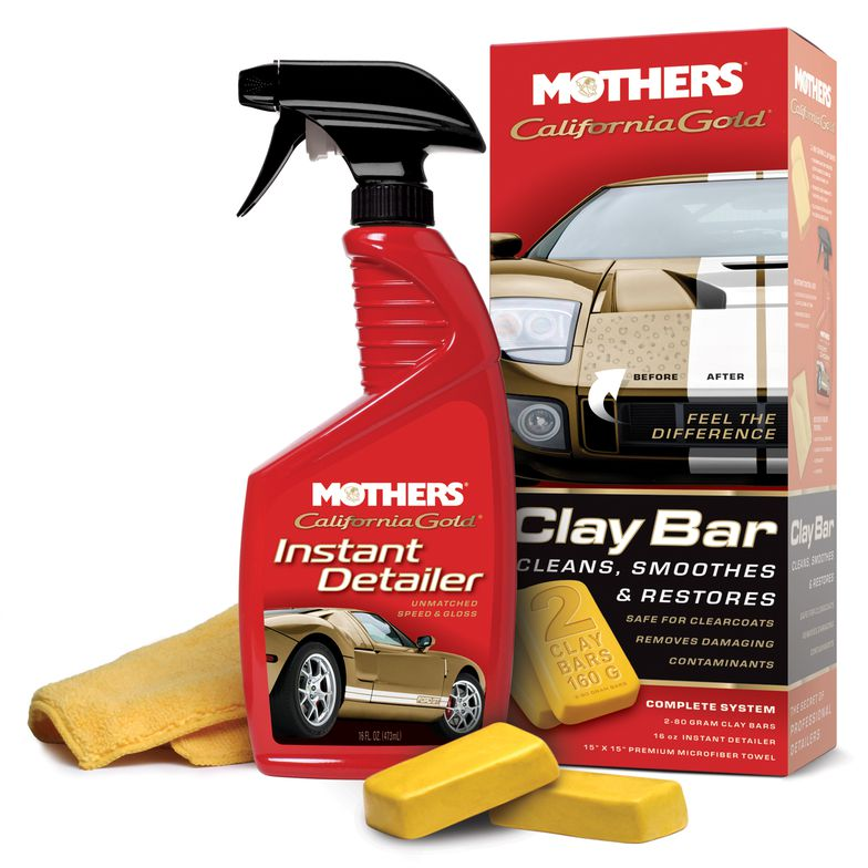Kit Clay Bar System Califórnia Gold Mothers