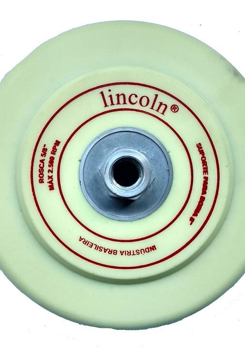 Suporte para politriz 8 pol rosca 5/8'' - Lincoln