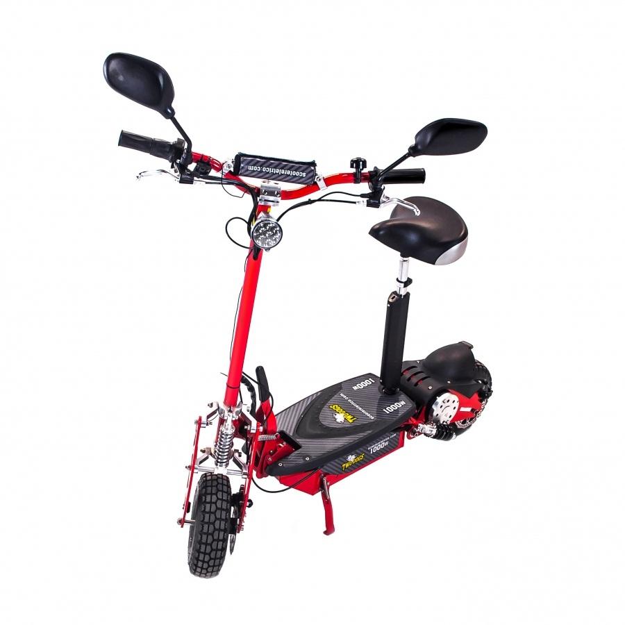 Scooter Elétrica Two Dogs 1000w 36v Vermelha