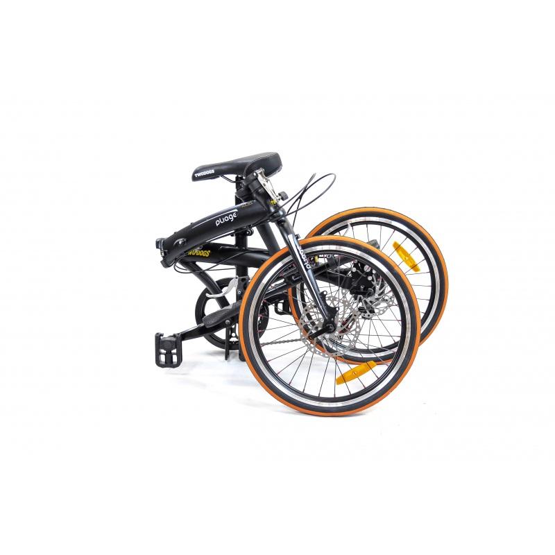 Bicicleta Dobrável Pliage Preta Two Dogs