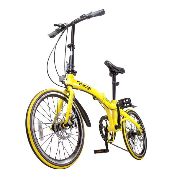 Bicicleta Dobrável Pliage Amarela  Two Dogs
