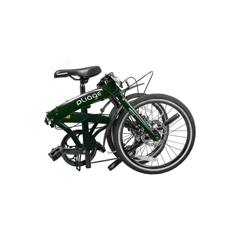 Bicicleta Dobrável Pliage Verde  Two Dogs