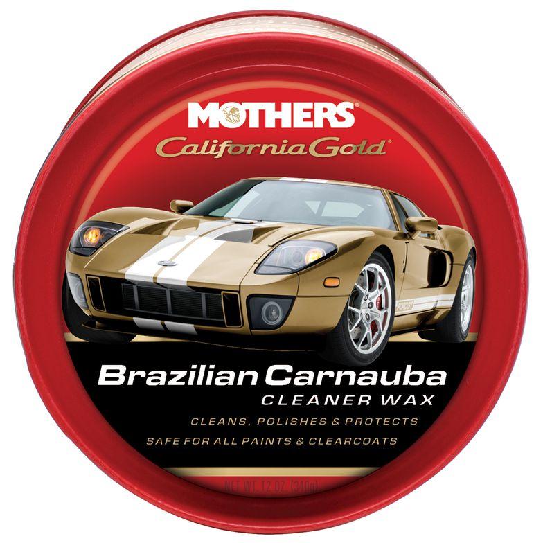 Cera em Pasta de Carnaúba Cleaner Wax Califórnia Gold 340g Mothers