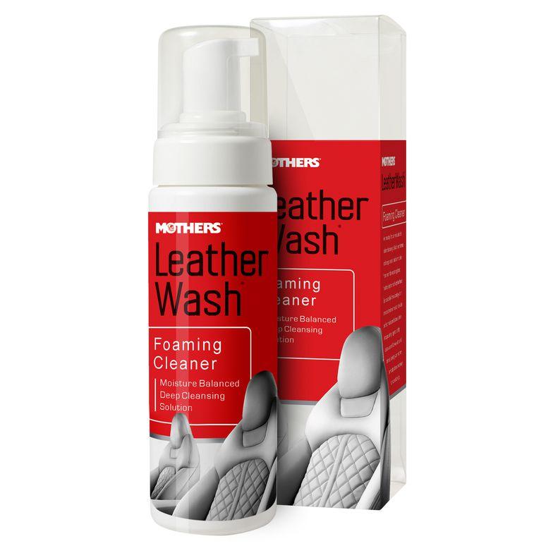 Espuma Limpadora para Couro Leather Foaming Wash Cleaner 236ml Mothers