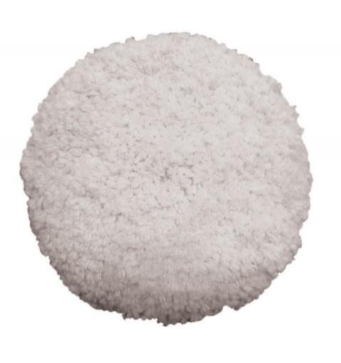 Boina Dupla Face 60% Acrílico e 40% Lã Branca Normal 8 pol Buff and Shine