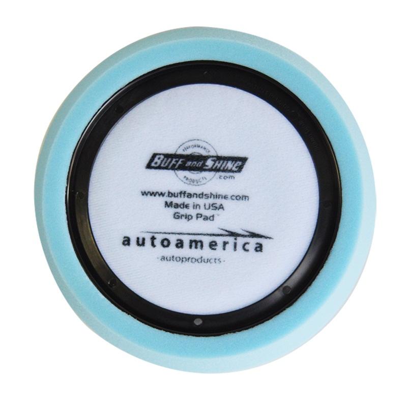 Boina de Espuma Blue Waffle 7,5 pol c/ Anel Centralizador Buff and Shine