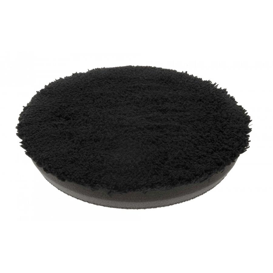 Boina de Microfibra com Interface Preta 5,5 pol Buff and Shine