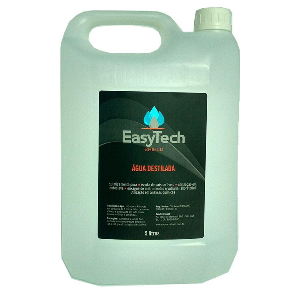 Água Destilada 5lt EasyTech
