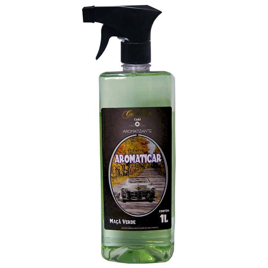 Aromatizante Aromaticar Maça Verde 1lt Cadillac