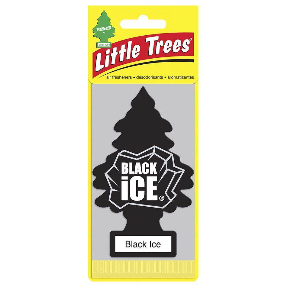 Aromatizante Car Freshiner Black Ice Little Trees