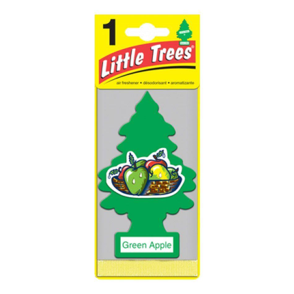 Aromatizante Car Freshiner Green Apple Little Trees