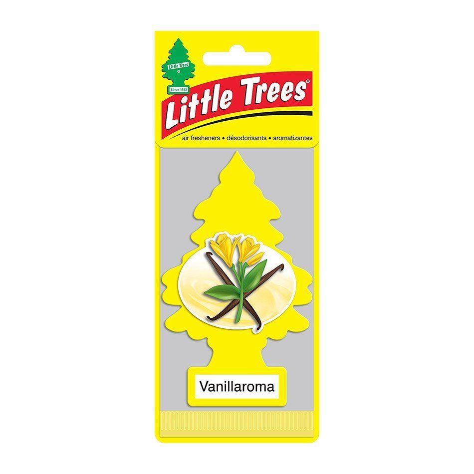 Aromatizante Car Freshiner Vanillaroma Little Trees