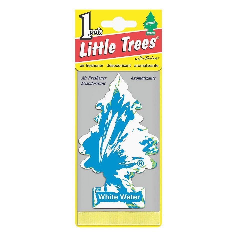 Aromatizante Car Freshiner White Water Little Trees