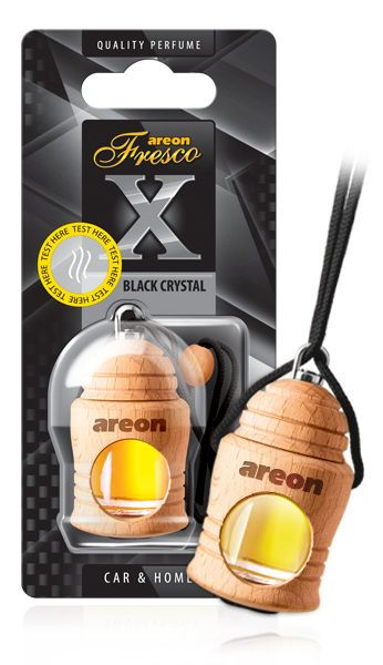 Aromatizante Fresco X Version Black Crystal Areon