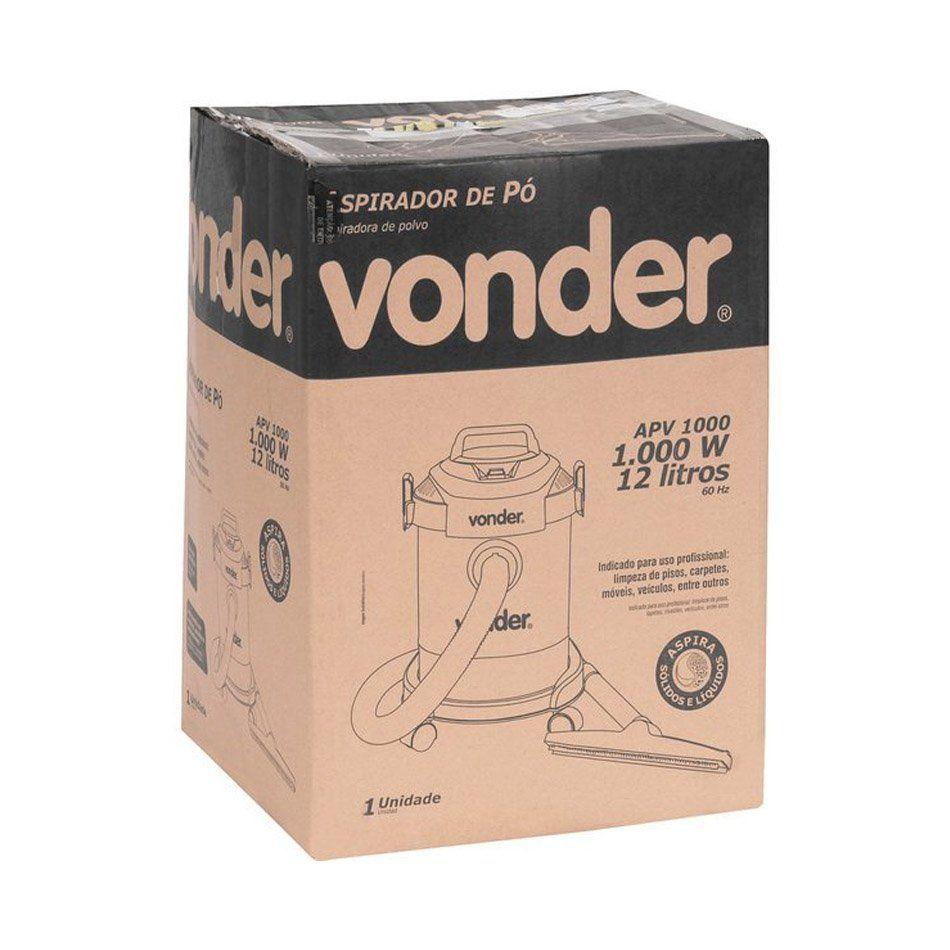 Aspirador de Pó APV 1000 127v Vonder