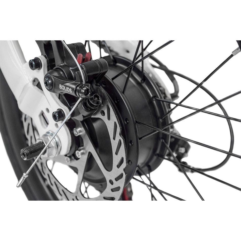 Bicicleta Dobrável Pliage + Kit Elétrico Branco Two Dogs