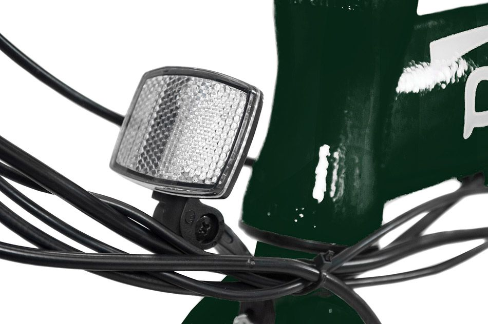 Bicicleta Dobrável Pliage + Kit Elétrico Verde Two Dogs