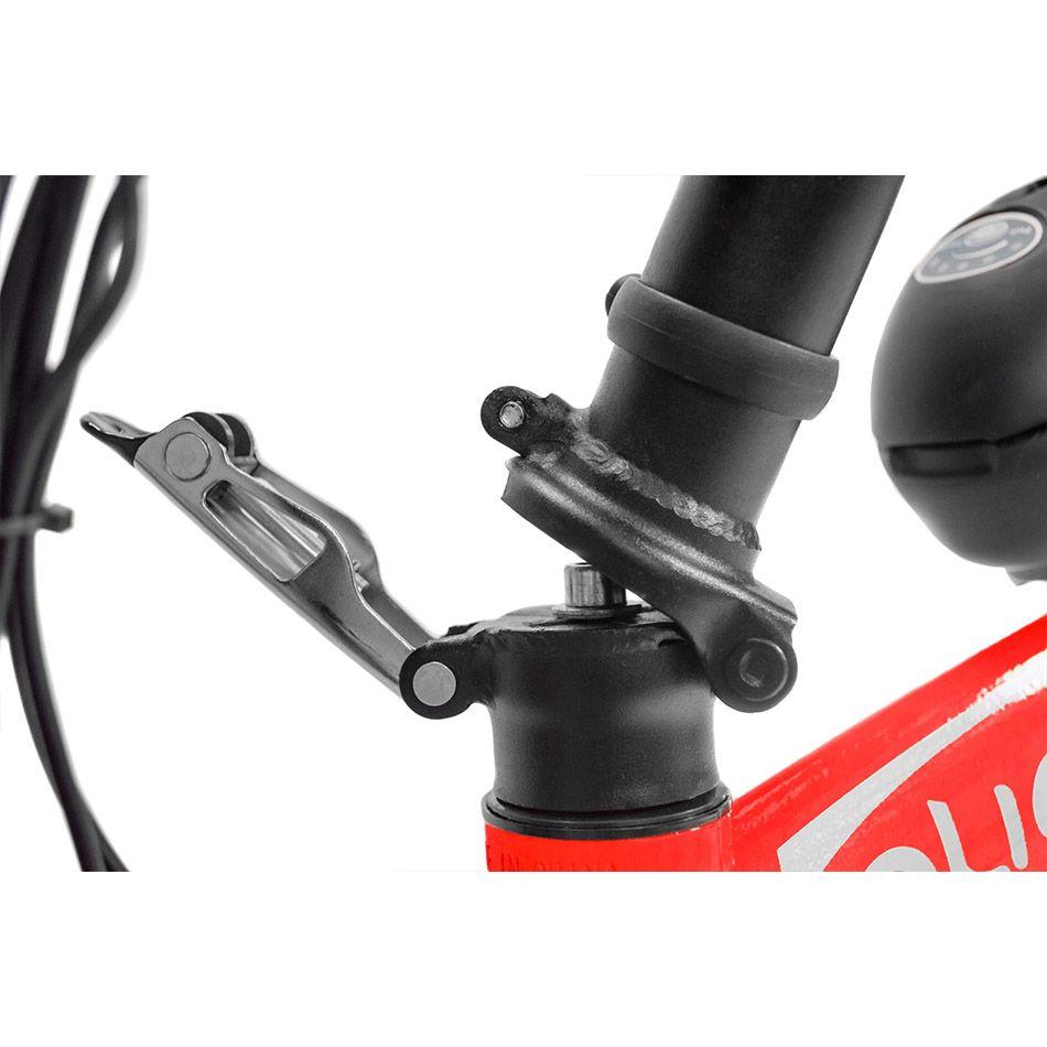 Bicicleta Dobrável Pliage + Kit Elétrico Vermelho Two Dogs