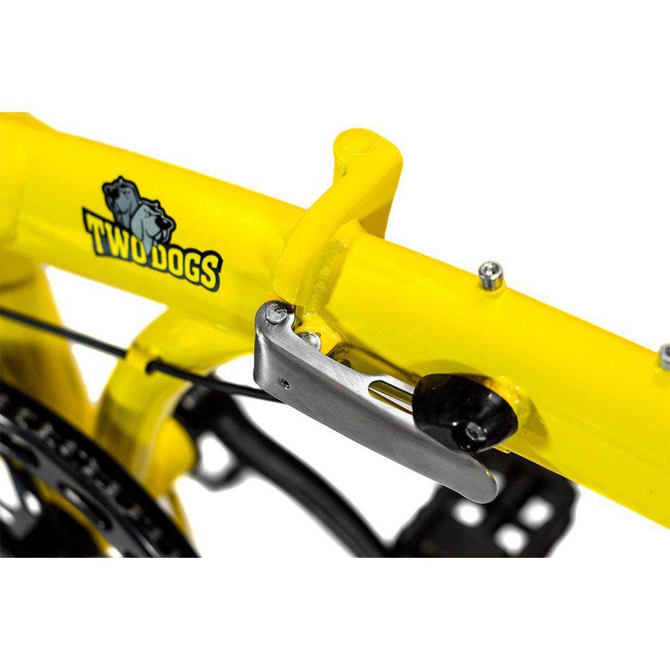 Bicicleta Dobrável Pliage Plus Amarela Two Dogs
