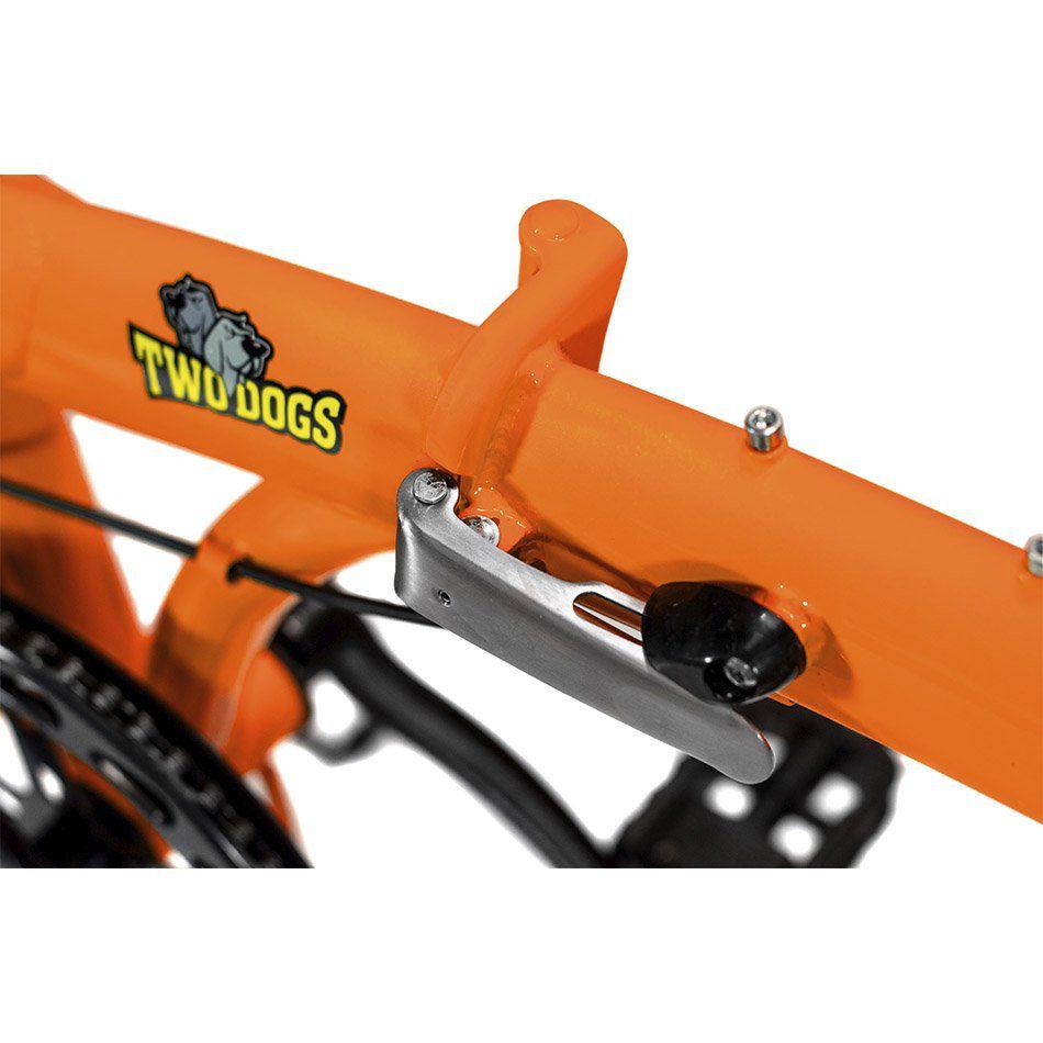 Bicicleta Dobrável Pliage Plus Laranja Two Dogs