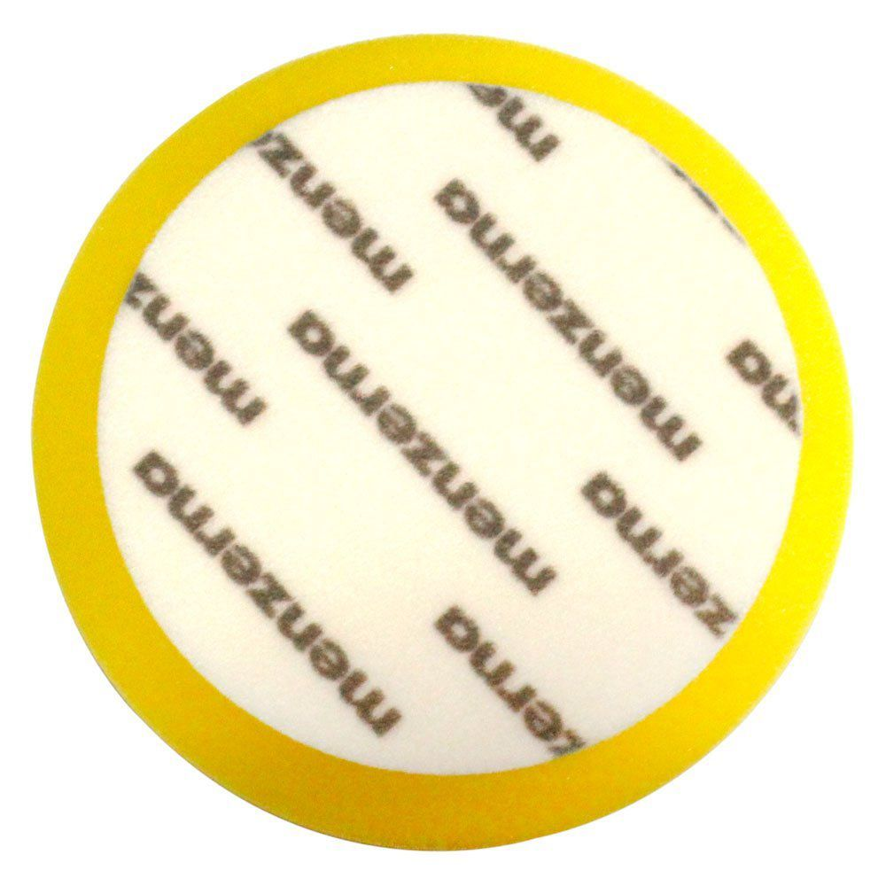 Boina de Espuma Amarela Medium Cut Foam Pad Refino 7 pol (180mm) Menzerna