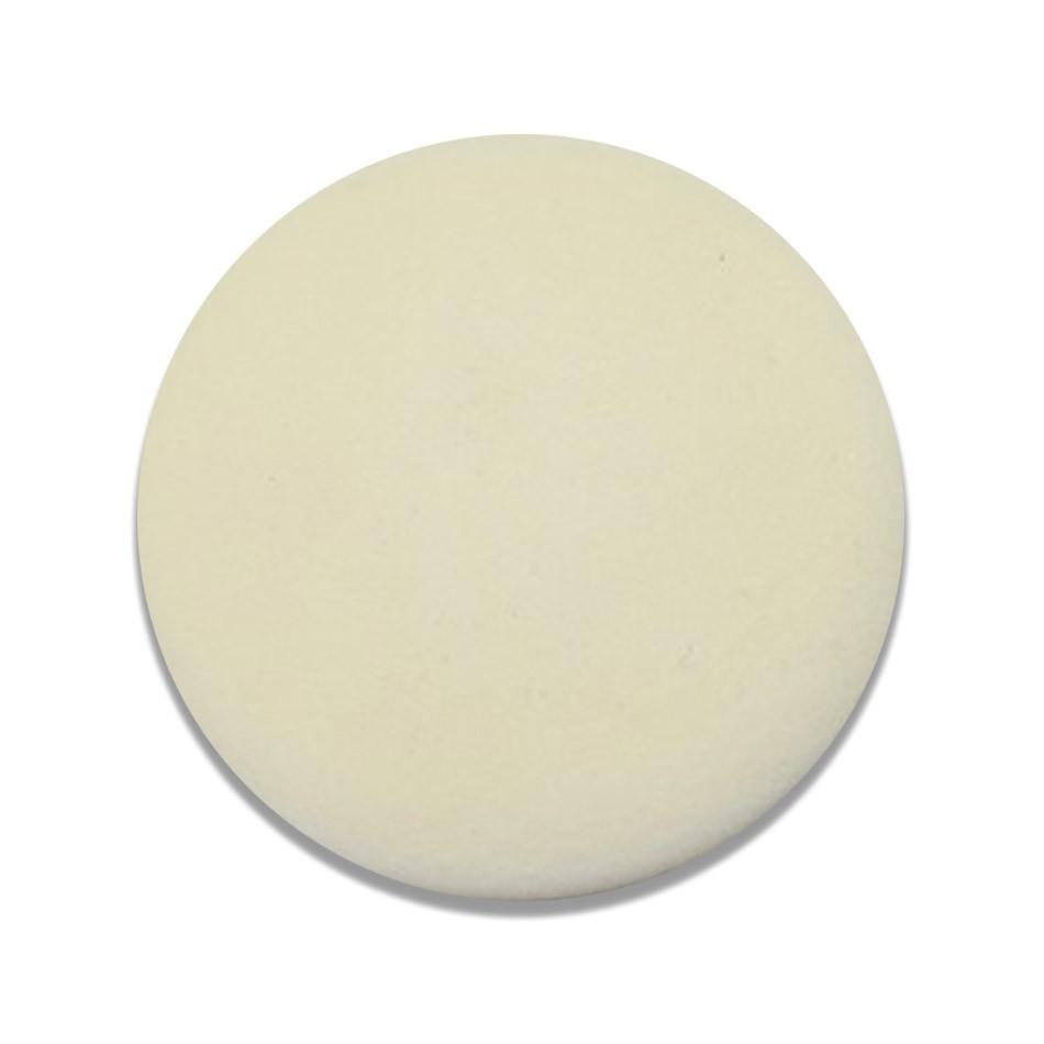 Boina de Espuma Branca Mácia 3 pol Lisa Mills