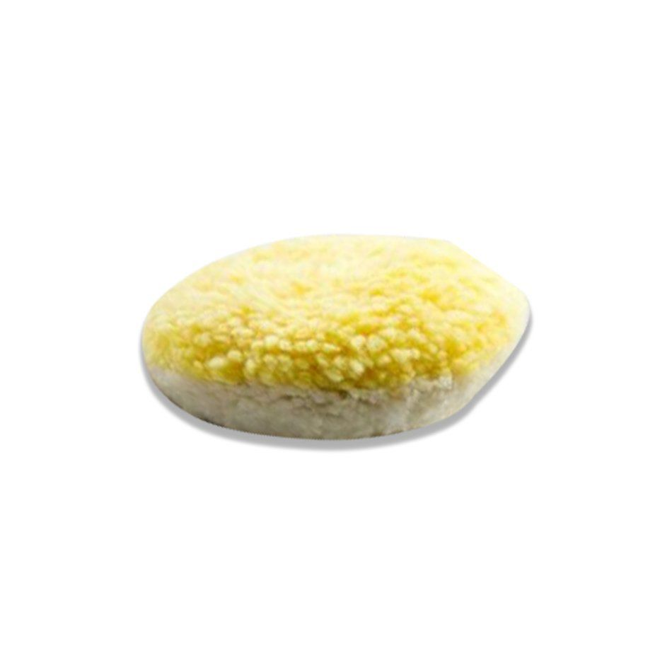 Boina de Fio Importado Mista (Branca e Amarela) 5 pol New Polish