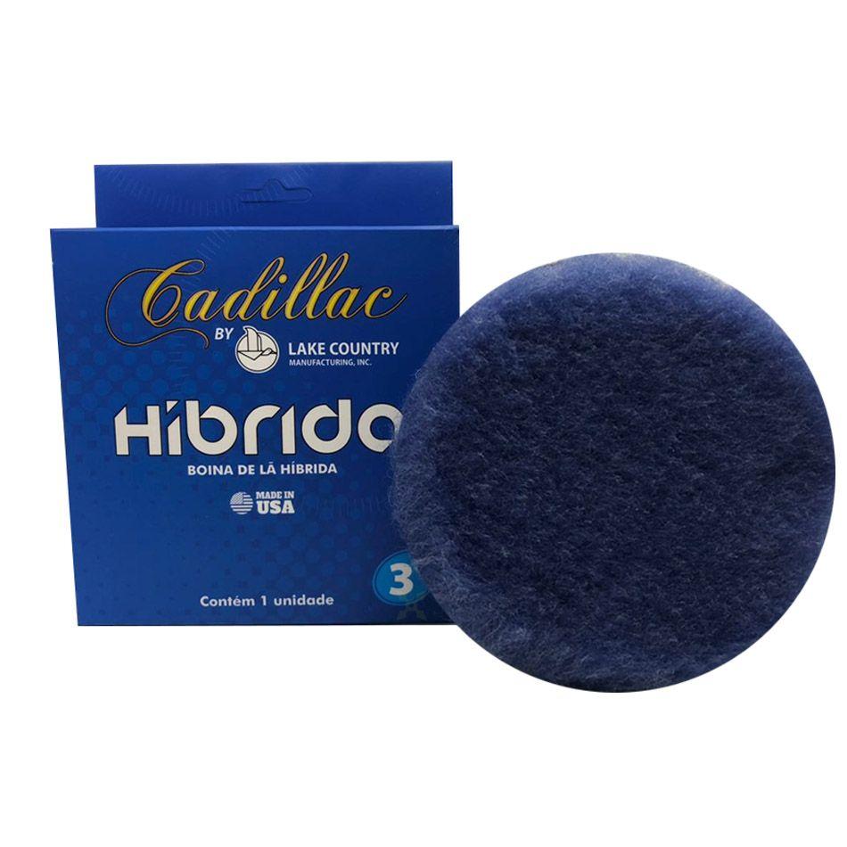 Boina de Lã Híbrida Azul 3 pol Cadillac