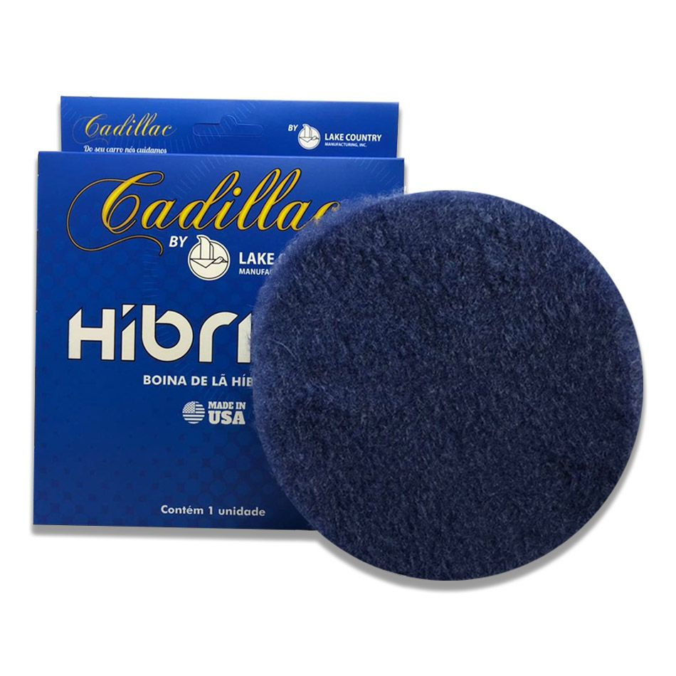 Boina de Lã Híbrida Azul 6 pol Cadillac