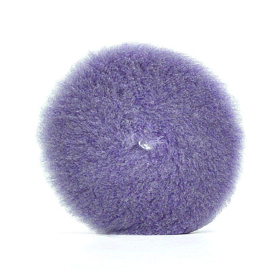 Boina de Lã Roxa 6 pol Purple Foam Wool Lake Country
