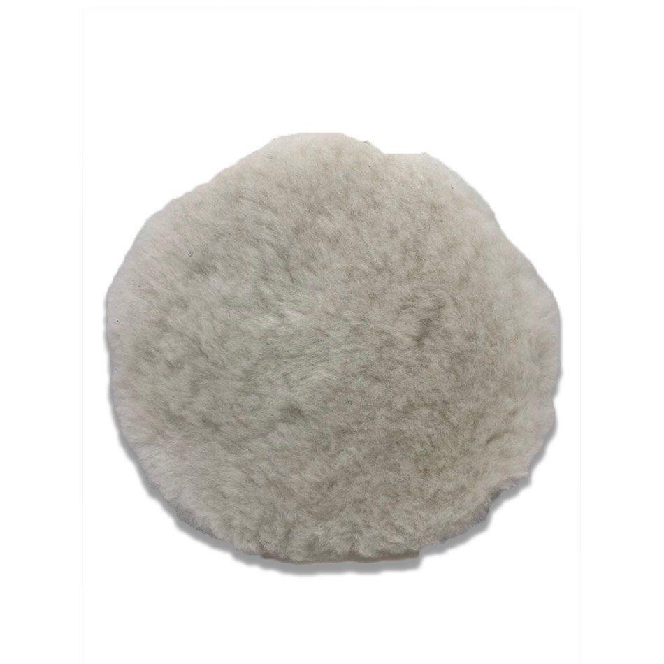 Boina de Lã Hibrida Corte 5 pol p/ Politriz Rotativa Nobre Car