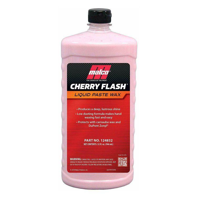 Cera Automotiva Líquida Cherry Flash 946ml Malco