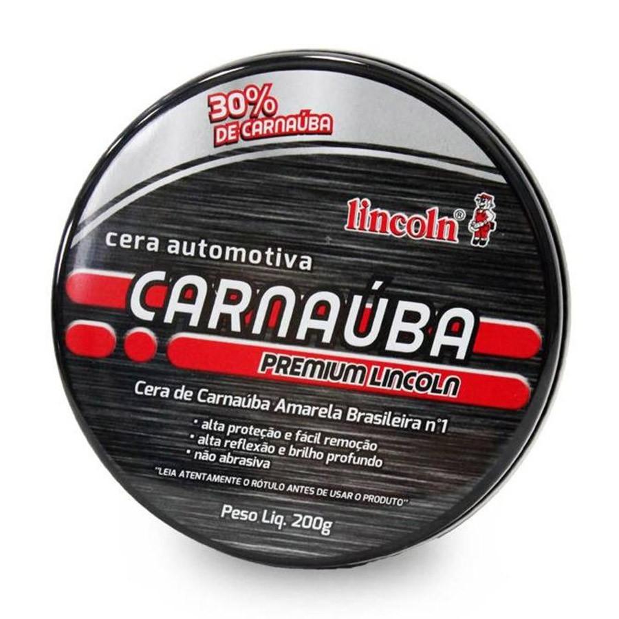 Cera de Carnaúba Premium 200g Lincoln