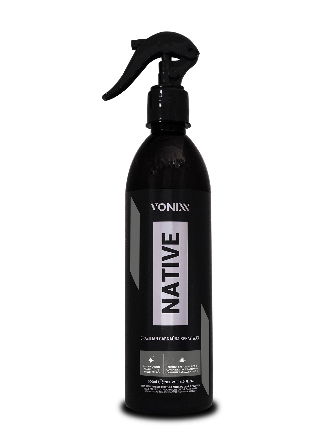 Cera Líquida de Carnaúba Native Spray Wax 473ml Vonixx