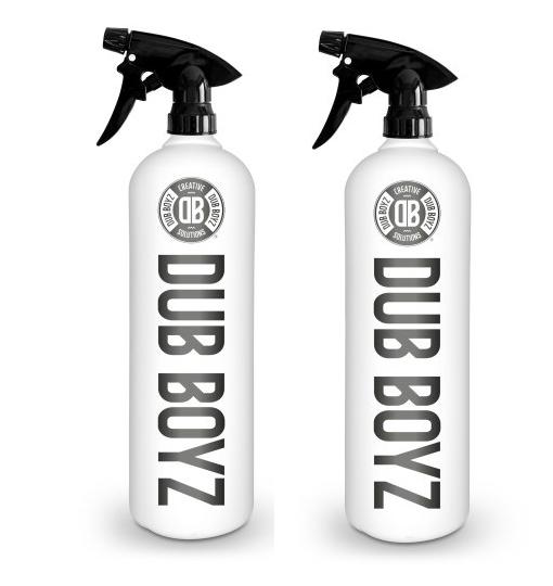 Combo de Pulverizadores Resistente a Químicos  Dub Boyz Preto 800ml
