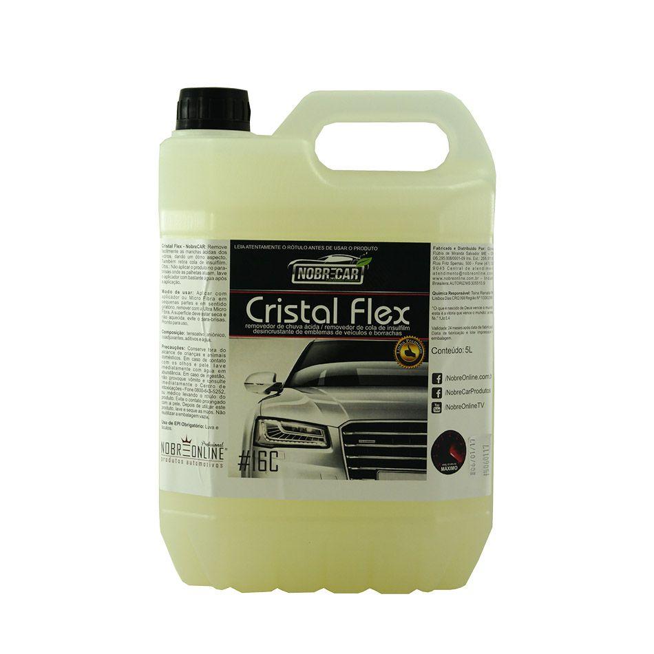 Cristal Flex Removedor de Chuva Ácida Linha Premium 5lt Nobre Car
