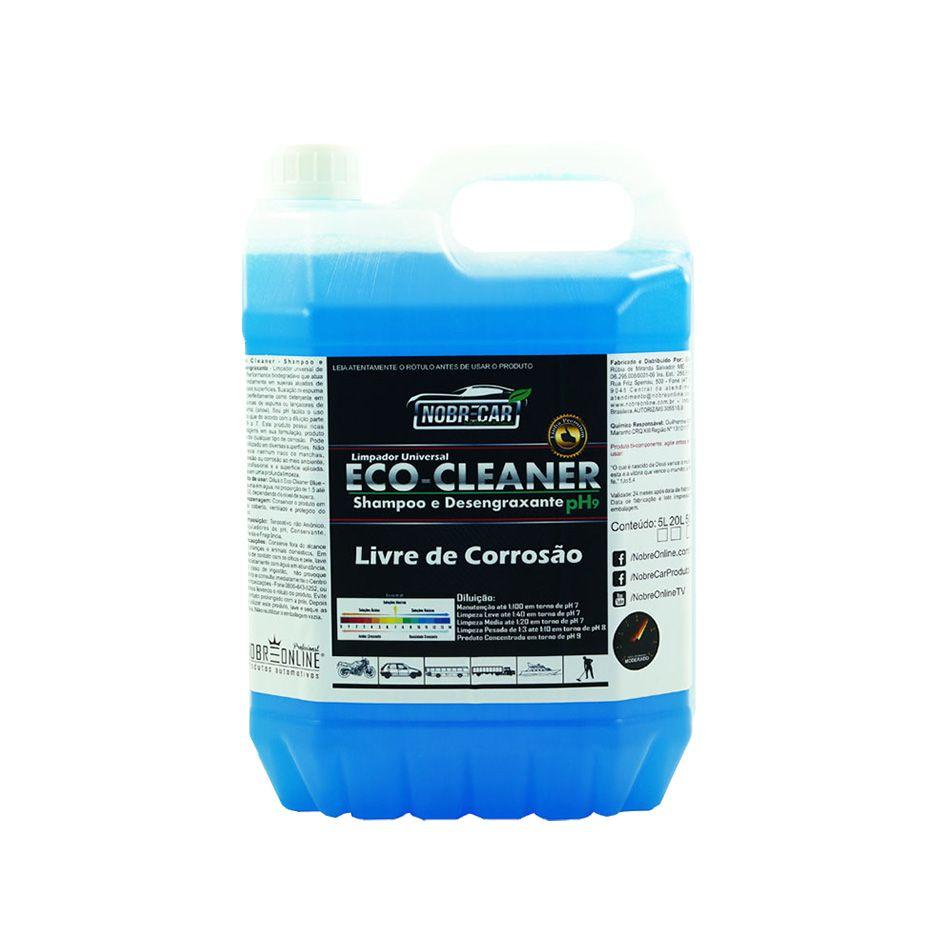 Eco Cleaner Shampoo e Desengraxante Linha Premium 5lt Nobre Car
