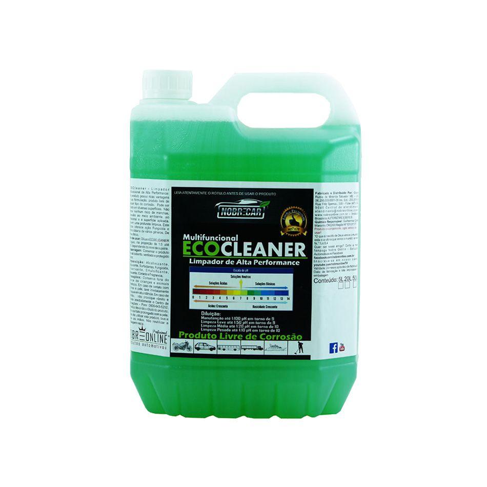 Eco Cleaner Verde Linha Premium 5lt Nobre Car