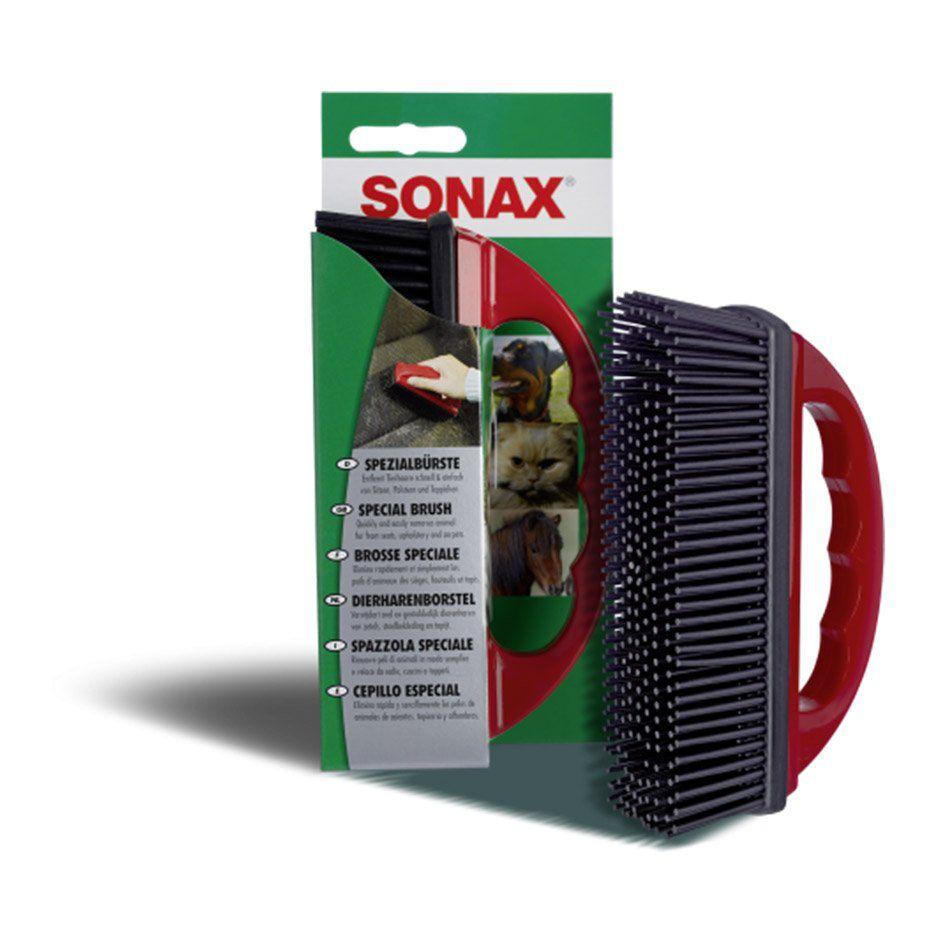 Escova de Silicone para Remoção de Pelos Sonax