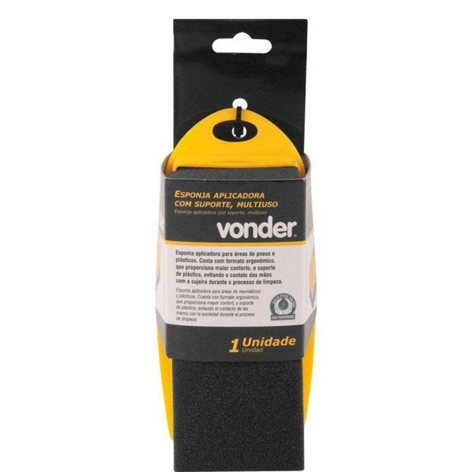 Esponja Aplicadora de Pneu Pretinho Vonder